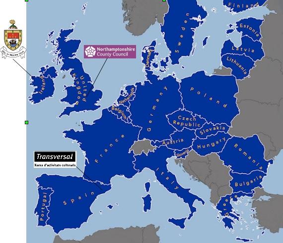 mapa europa i socis