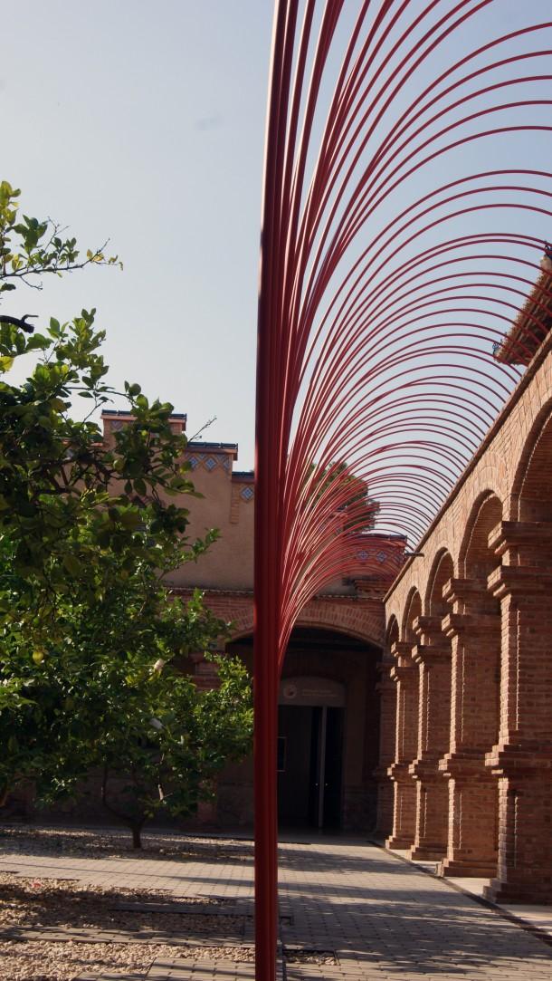 Pati del Museu de Tortosa