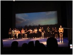 Coreografia CONSTANZA BRNCIC   Actuació Mataró  (Foto: twitter)