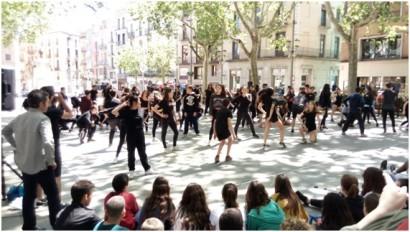 COREOGRAFIA TONI MIRA – actuació Figueres (Foto: Transversal)