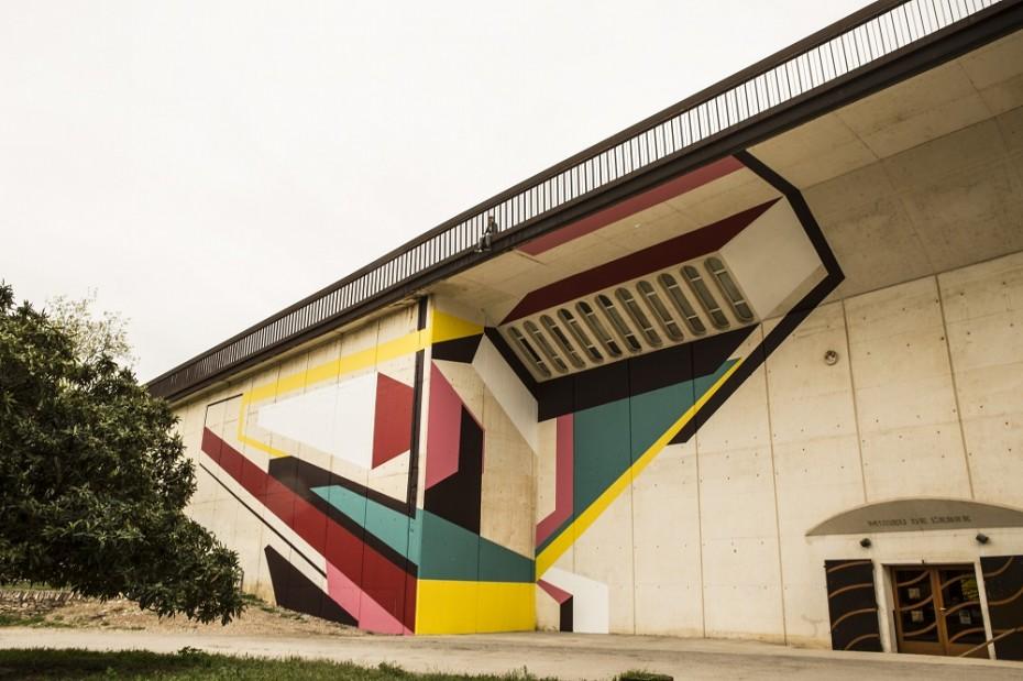 Mural d'Elbi Elem a Tortosa. Foto de Vanessa Batista