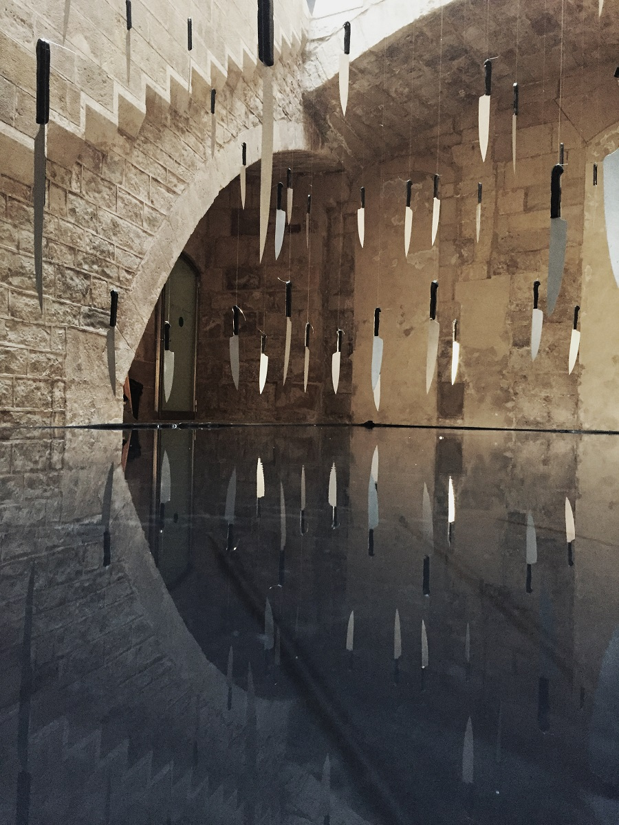 instal·lació de  Jordi Hidalgo a l'A Cel Obert